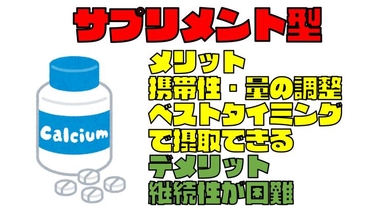 サプリメント型栄養補助食品のメリット・デメリット